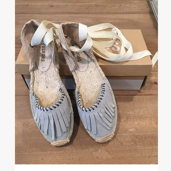 5d5af6d5a675 Soludos Lace Up Espadrille Sandals - New with Box